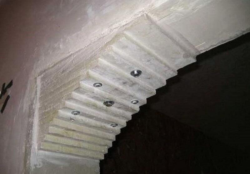 Формирование арки из гипсокартона