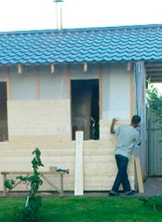 строить дом каркасно-щитовой