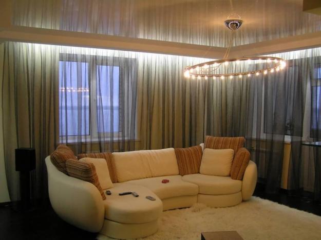 Размещение светодиодной подсветки За карнизом