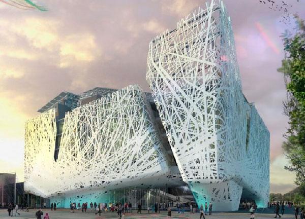 2. Новые технологии в строительстве - здания, поглощающие смог