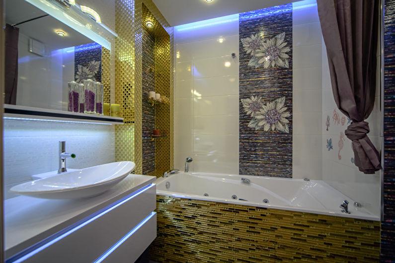 Дизайн маленькой ванной комнаты 3 кв.м.