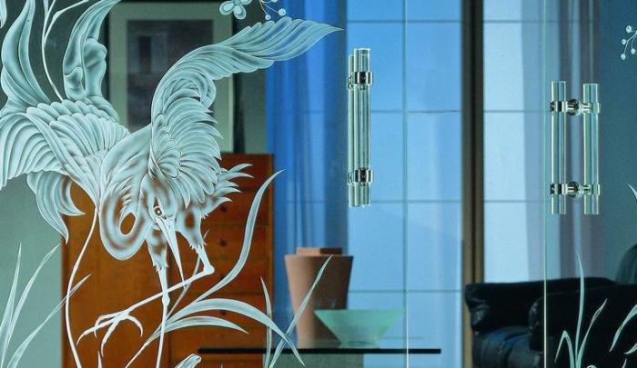 Как сделать стекло матовым