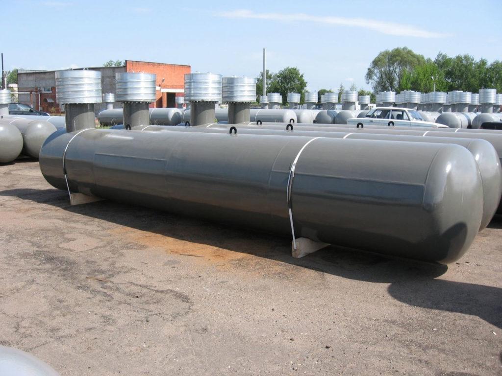 Газгольдер для хранения газа для отопления