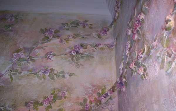 Удаление жидких обоев со стен