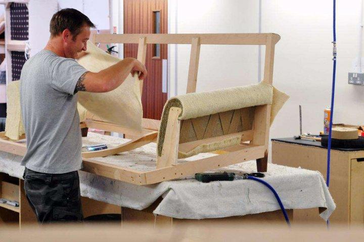 Основные принципы изготовления мягкой мебели