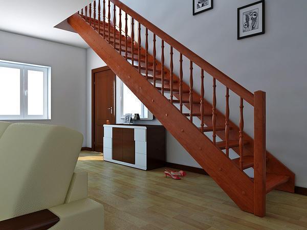 Каков стандартный размер ступеней лестницы