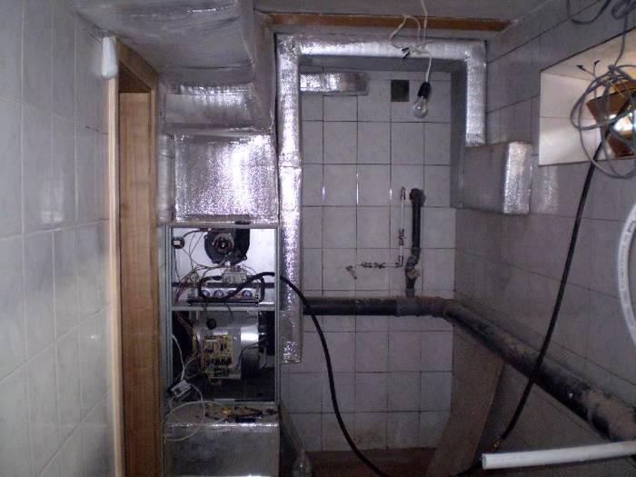 Размещение теплогенератора в отдельном помещении