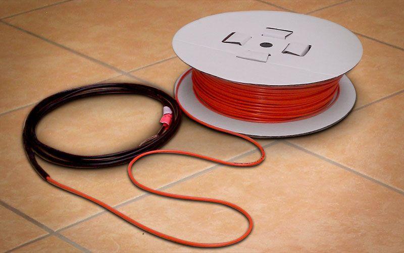 Теплый пол кабельного типа