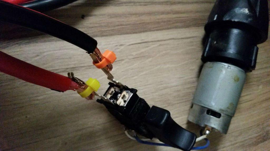 Провода для заряда аккумулятора