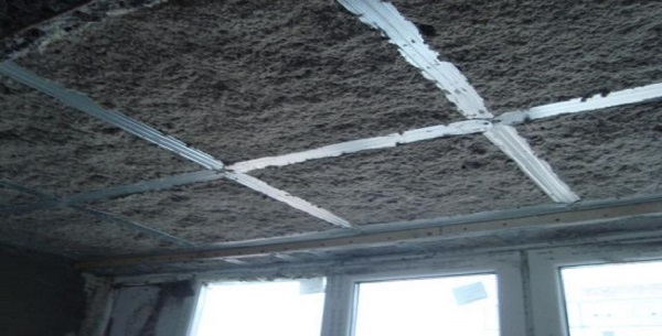 Жидкая звукоизоляция потолка