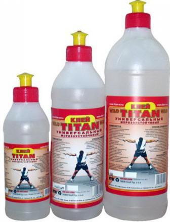 клей для потолочной плитки Титан