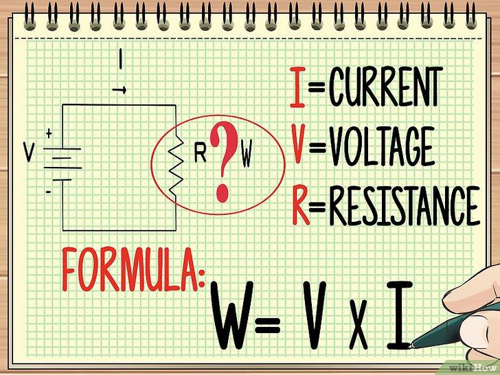 Изображение с названием Calculate Wattage Step 3
