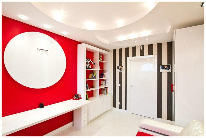 Модный дизайн комнаты для девочки