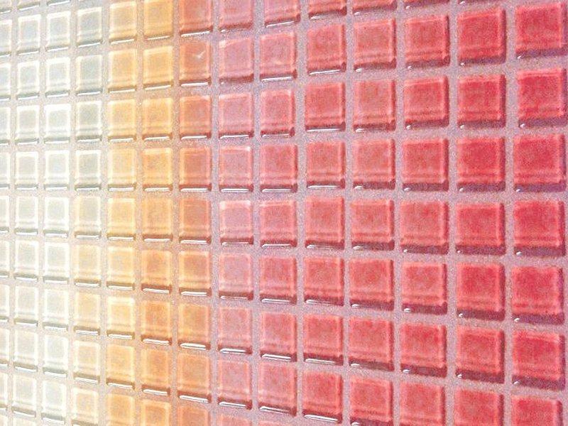 Как выглядит мозаика после затирки эпоксидной смесью