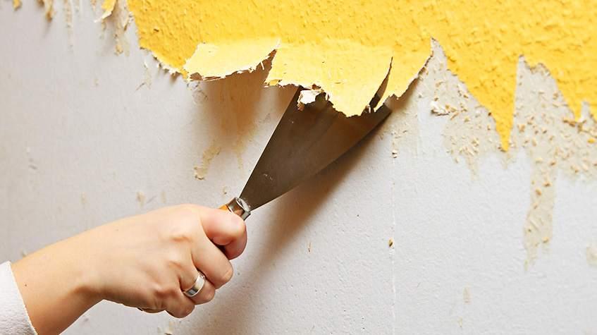 Очистка стены