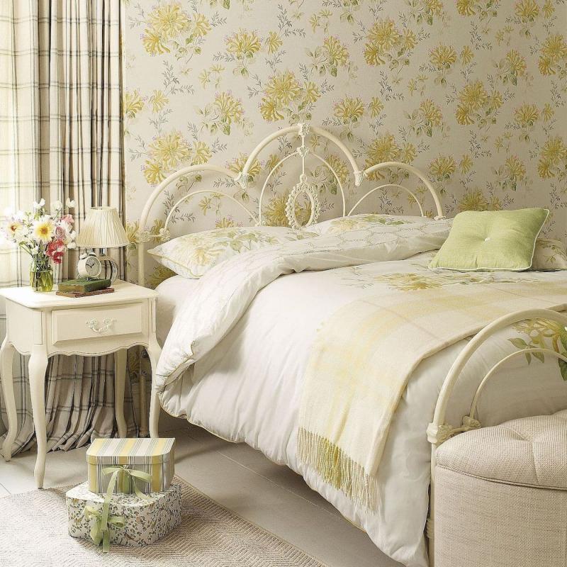 Обои для спальни в прованском стиле 3