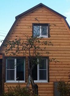 строить дом из дерева