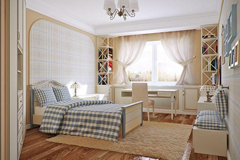 Детская комната - Дизайн квартиры в стиле прованс