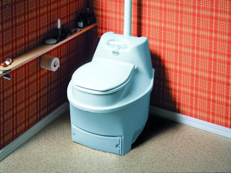 Биотуалет в бане