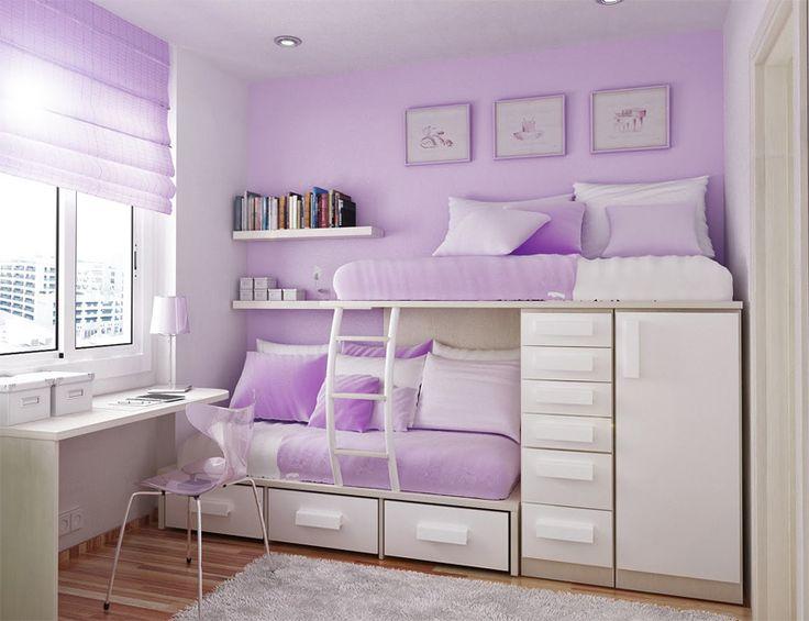 фиолетовая детская для двоих