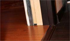 Как положить ламинат в дверном проеме