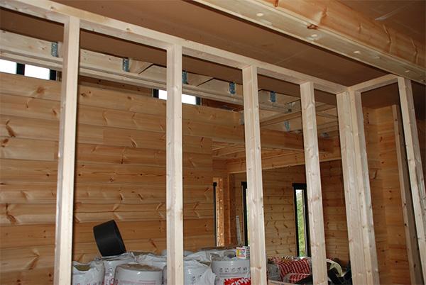 Нюансы установки гипсокартона в деревянном доме