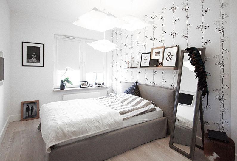 Бумажные обои для спальни