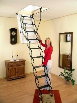 Ножничная лестница Fakro