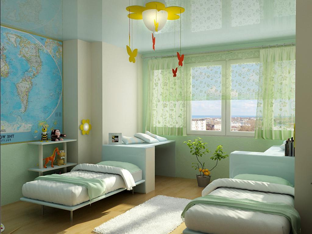 необычная детская спальня для мальчика