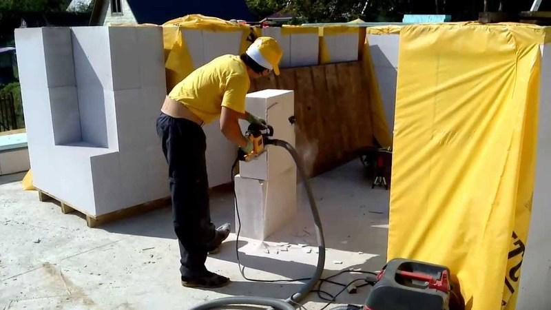 Сабельная пила электрическая для газобетона
