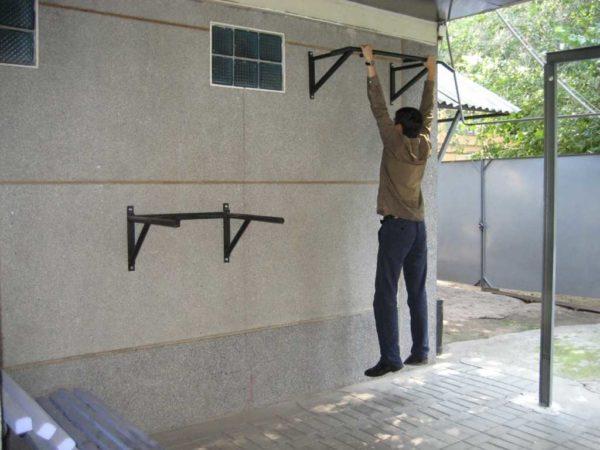 Домашний турник своими руками: чертежи, схемы, фото