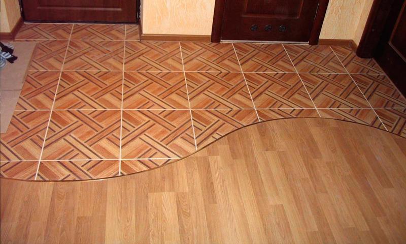 Стык плитки и ламината: стыковку как состыковать, порожка переход и соединение, по керамический и профиль