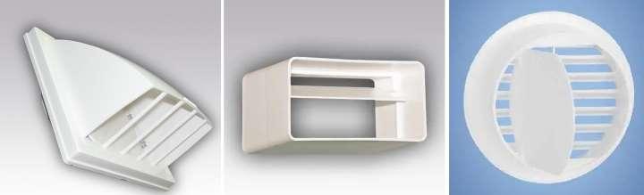 Пластиковый обратный клапан вентиляции