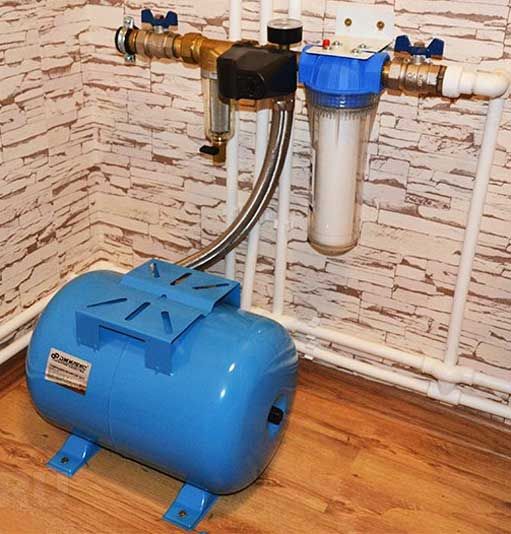 гидроаккумулятор для систем водоснабжения устройство и принцип