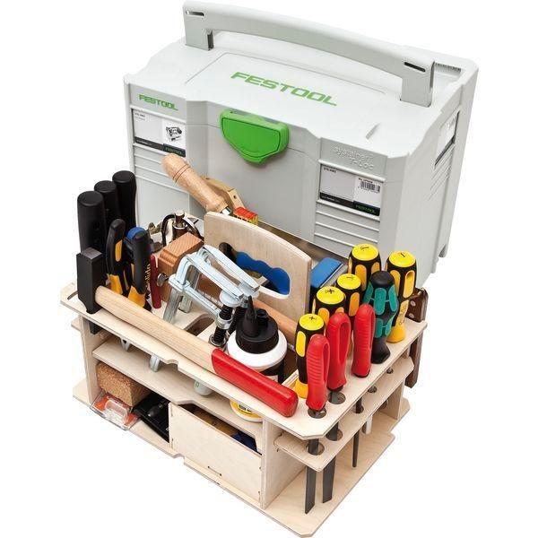 систейнеры, сортейнеры и другие ящики для инструмента от Festool