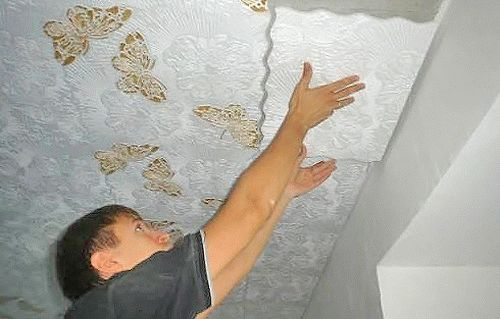 бесшовная потолочная плитка фото