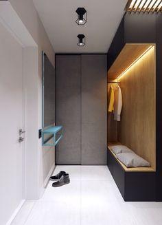 Интерьер современной прихожей в квартире