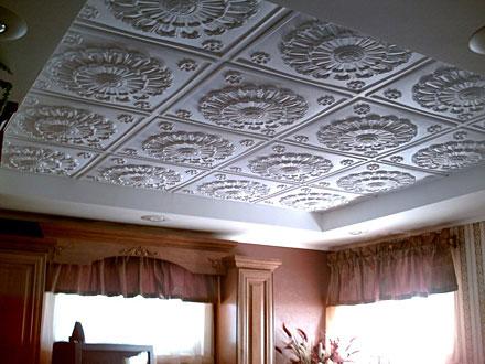 Выбор клея для потолочных плит из пенопласта