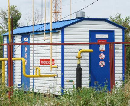 Блок распределения газа