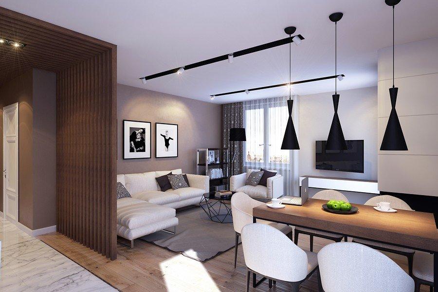 Светлая мебель в квартире