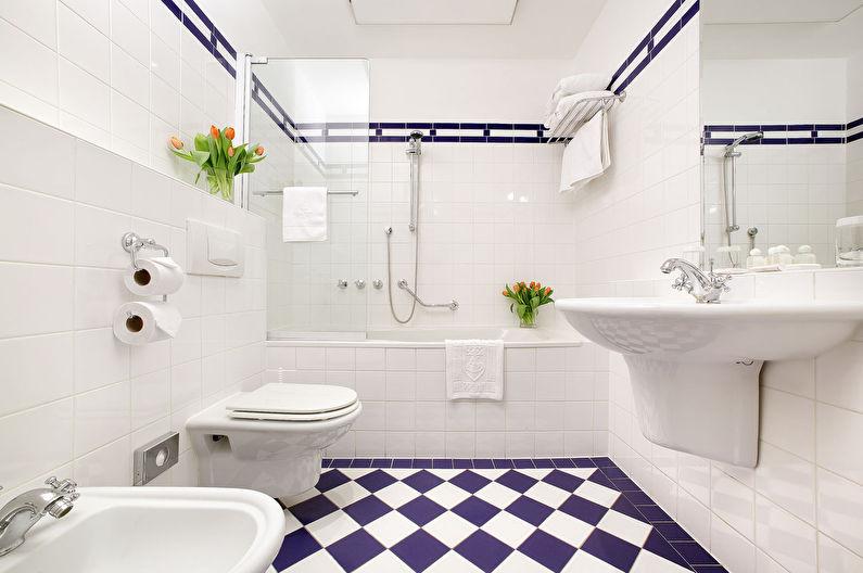 Дизайн маленькой ванной комнаты 5 кв.м.