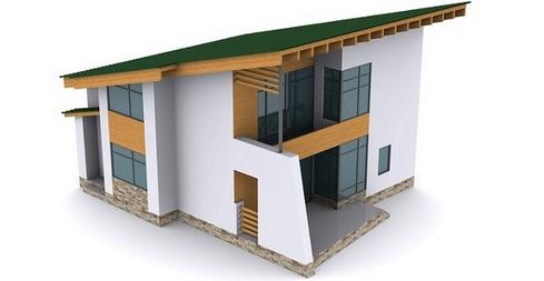 Состав односкатной крыши