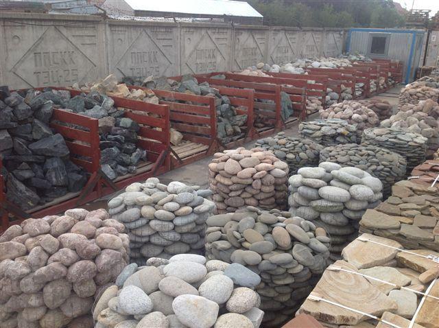 Различные камни