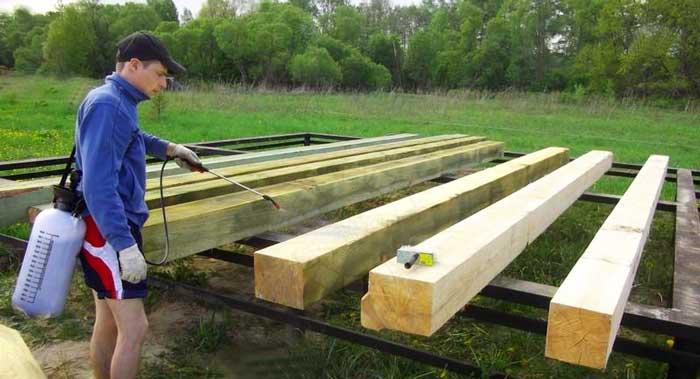 применение-антисептиков-для-строительства-дома
