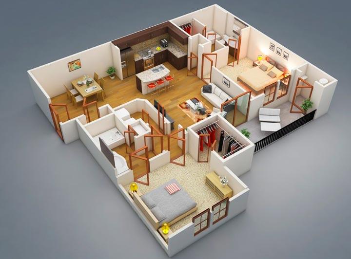 Проектировка и планировка дома