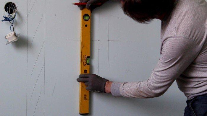 Подготовка и разметка рабочей поверхности