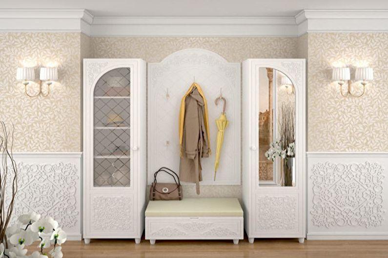 Прихожая - Дизайн квартиры в стиле прованс