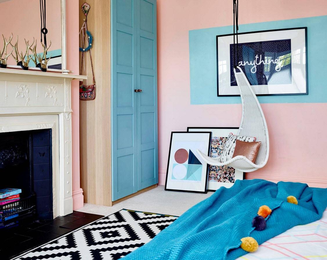необычная спальня для ребенка фото
