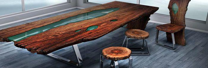 Неповторимые и привлекательные столы из эпоксидной смолы украсят ваш интерьер