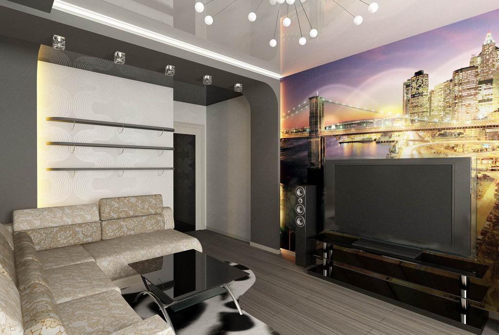 Дизайн интерьера реальных квартир 75 фото идей